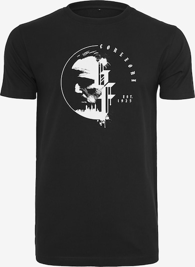 Mister Tee T-Shirt 'Godfather Circle' in schwarz / weiß: Frontalansicht