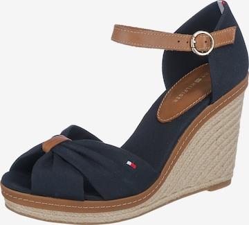 Sandale cu baretă 'Elena' de la TOMMY HILFIGER pe albastru