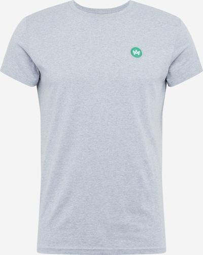 Kronstadt Shirt 'Timmi' in grey mottled / green, Item view