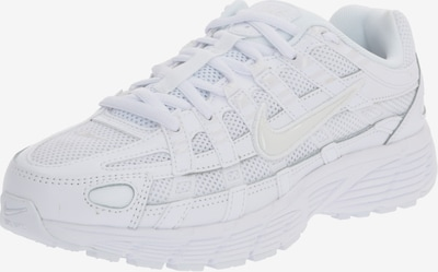 Nike Sportswear Baskets basses 'Nike P-6000' en platine / blanc, Vue avec produit