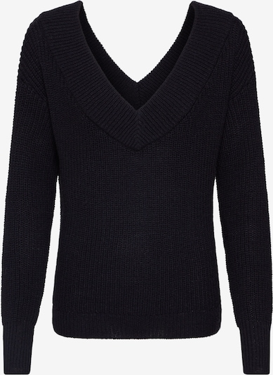 ONLY Sweter 'MELTON' w kolorze czarnym: Widok z przodu