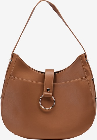 Usha Shoulder Bag in Brown