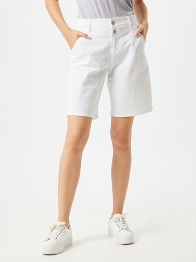 BRAX Jeans in de kleur Wit, Modelweergave