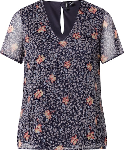 Vero Moda Petite Shirt in Dark blue / Mixed colours, Item view
