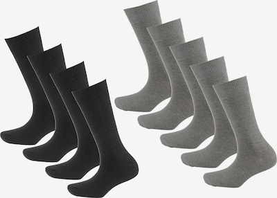 camano Socken Box in grau, Produktansicht