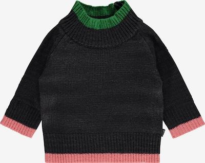 IMPS&ELFS Pullover in nachtblau / grün / rosa, Produktansicht