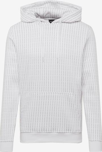 Mister Tee Sweatshirt in de kleur Zwart / Wit: Vooraanzicht