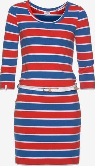 KangaROOS Kleid in blau / rot / weiß, Produktansicht