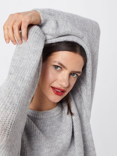 ABOUT YOU Sweater 'Mina' in Grey, Item view