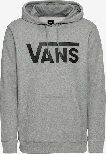 VANS Sweat-shirt en gris chiné / noir, Vue avec produit