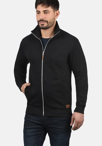 BLEND Sweatjacke 'Alio' in schwarz, Produktansicht