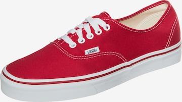 VANS Sneakers 'Authentic' in Red