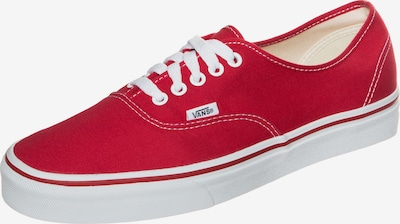 VANS Sneaker 'Authentic' in rot / weiß, Produktansicht