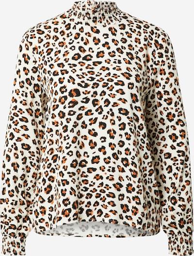 VILA Shirt 'DANIA' in de kleur Beige / Bruin / Zwart, Productweergave