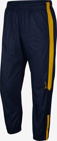 Nike SB Trainingshose 'Shield' in dunkelblau / goldgelb, Produktansicht