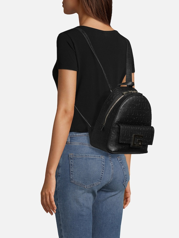 GUESS Rucksack 'BRIGHTSIDE' in schwarz | ABOUT YOU