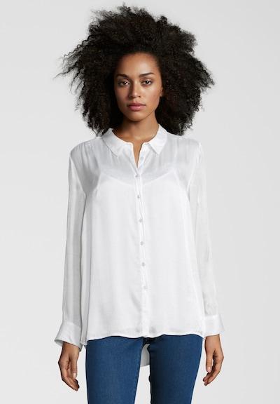 Frogbox 2 in 1 Bluse mit Spitzentop in weiß, Modelansicht