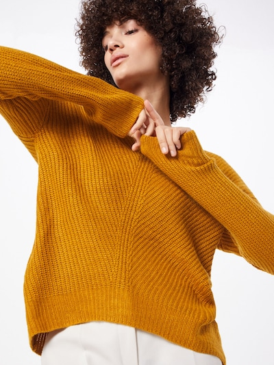 b.young Pullover 'MADIA' in dunkelorange, Modelansicht
