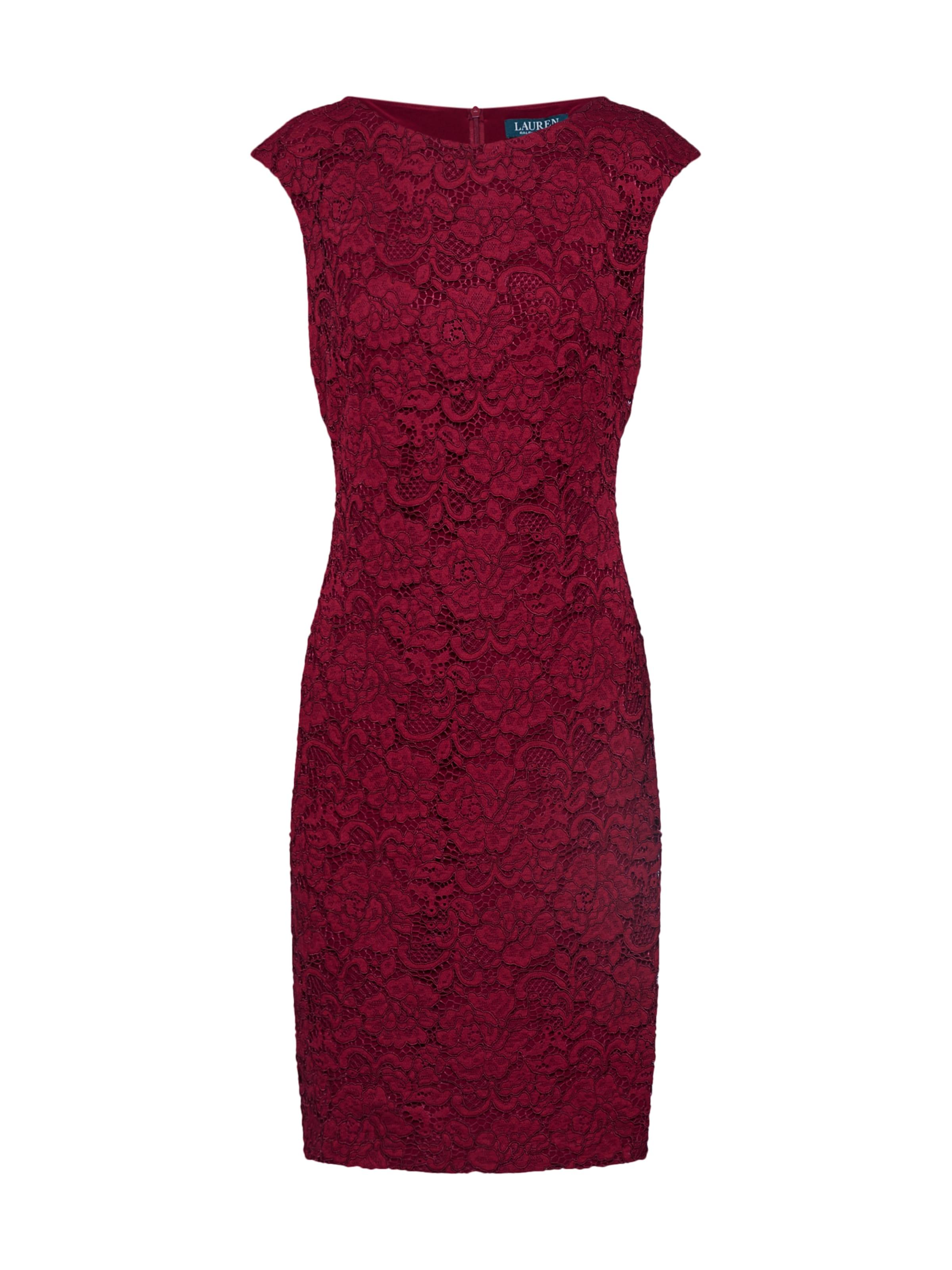 De Cocktail Rouge En cap' 'cithya Robe Carmin Ralph Lauren vNwm0On8