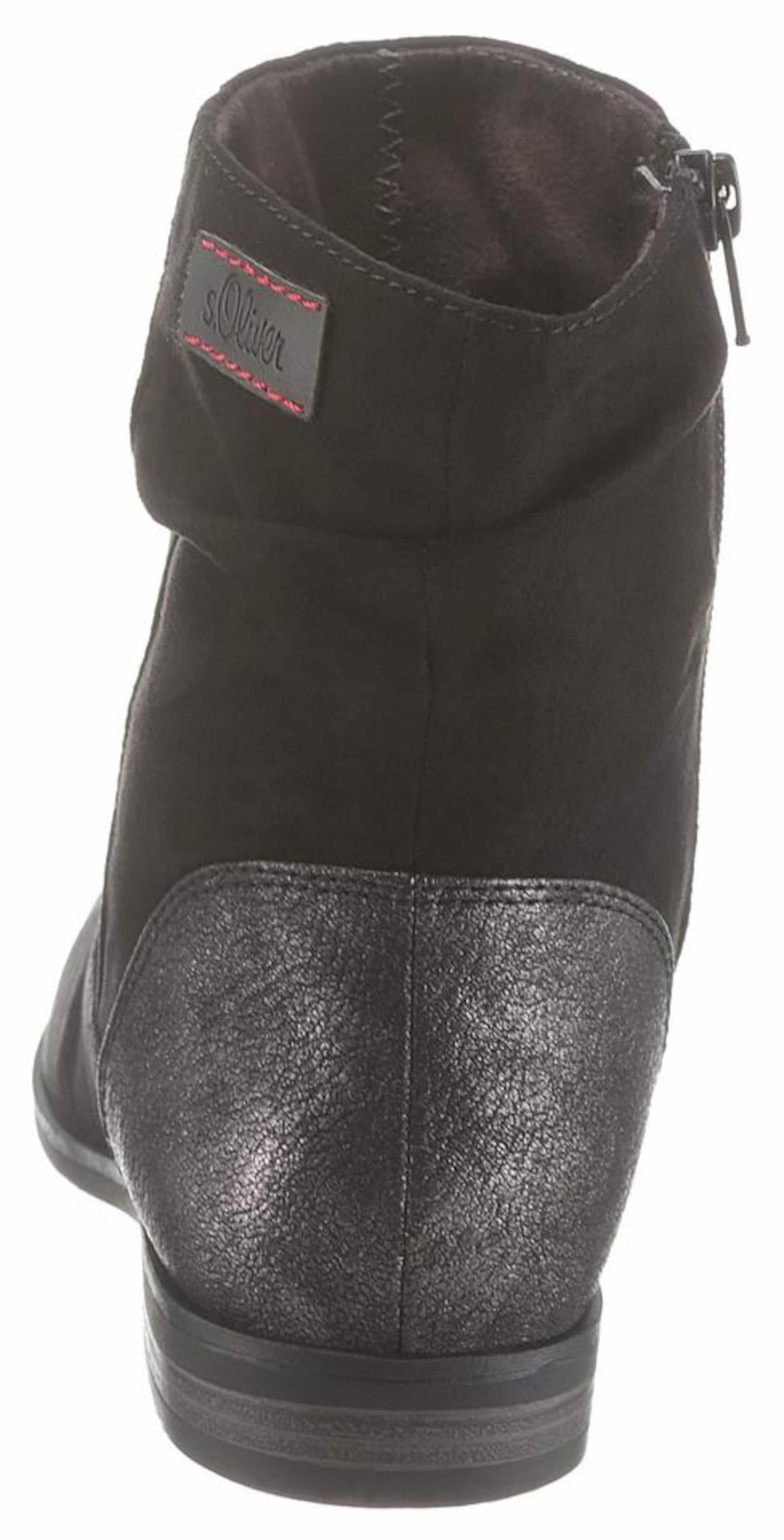 Red oliver Schwarz Label Stiefelette S In 'classy' Y6yf7bg