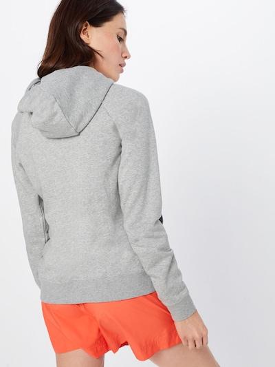 Nike Sportswear Sweatjacke 'Essntl' in graumeliert: Rückansicht