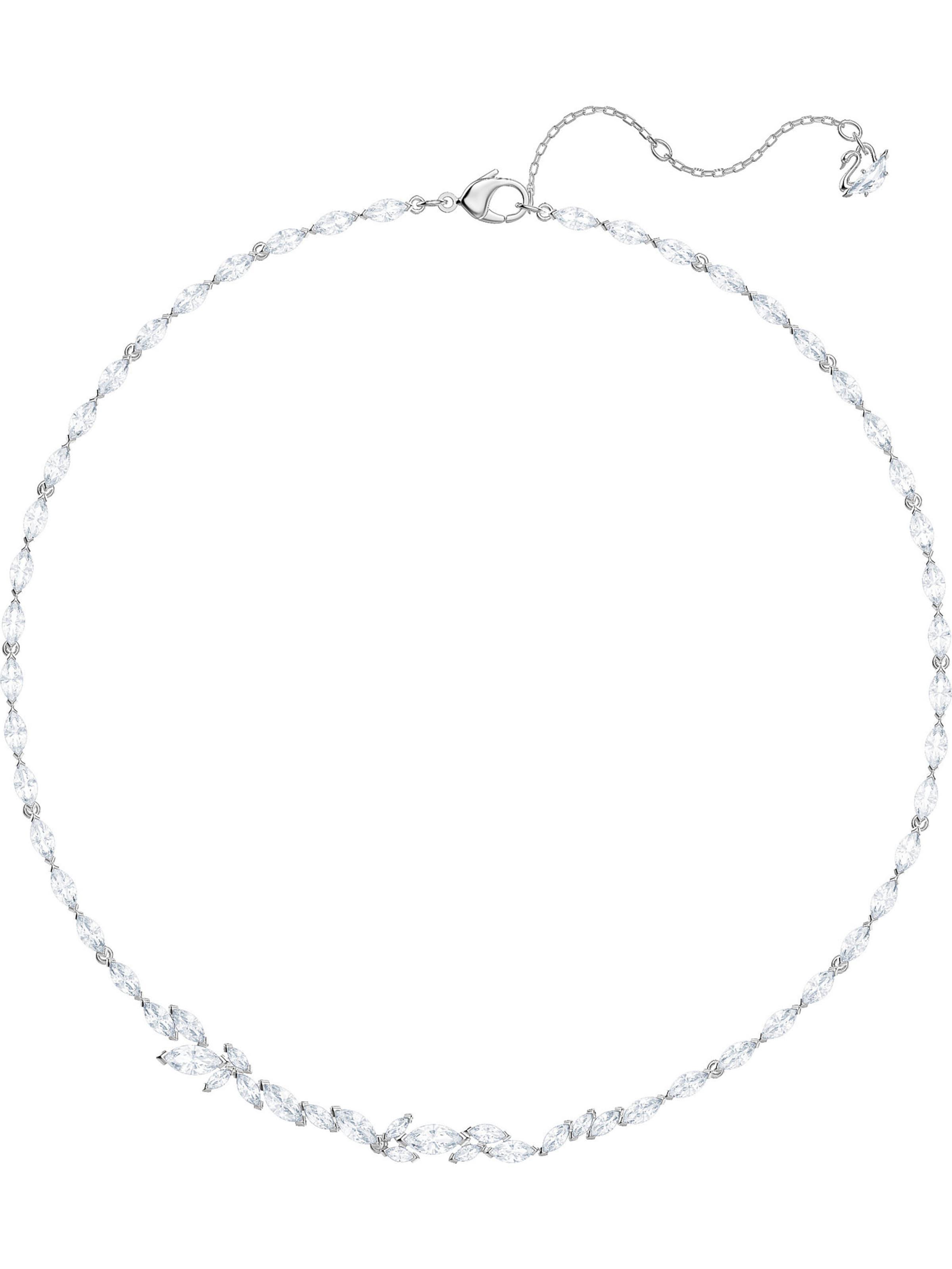 Kette Swarovski 'louison' Silber Swarovski In vmNw8On0