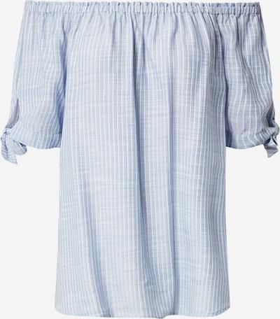 STREET ONE Bluse in hellblau / weiß, Produktansicht