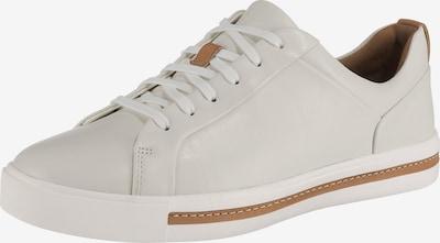 CLARKS Sneakers laag 'Un Maui Lace' in de kleur Lichtbeige / Wit, Productweergave