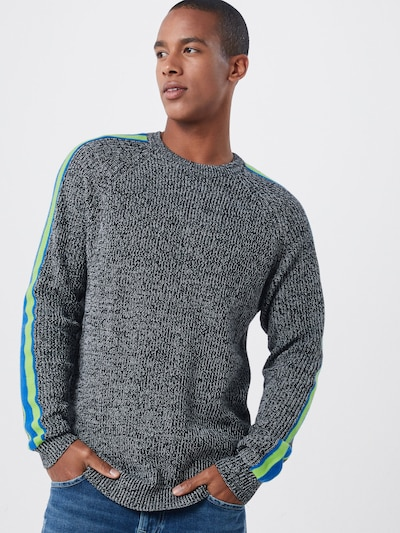 Only & Sons Pullover 'SIMON' in grau: Frontalansicht