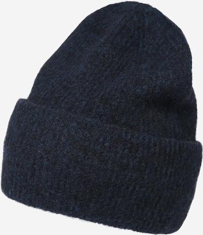 Samsoe Samsoe Bonnet en bleu foncé, Vue avec produit