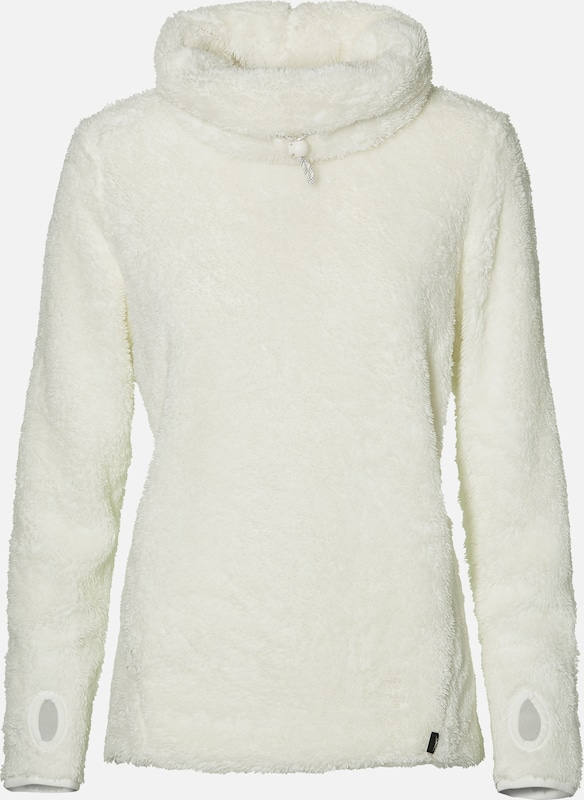 O'NEILL Sweat-shirt 'LW OVER THE HEAD SUPERFLEECE' en blanc, Vue avec produit