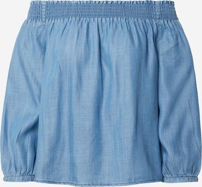 ONLY Bluse 'ONLTAMANTHA' in blue denim, Produktansicht