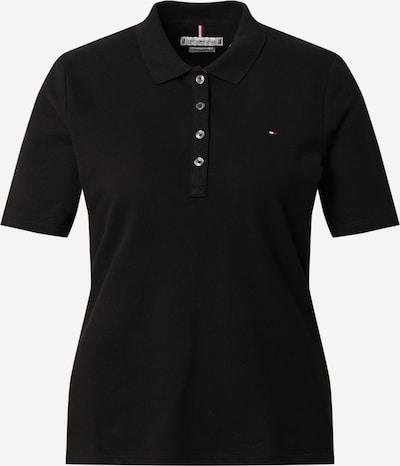 TOMMY HILFIGER Poloshirt 'TH ESSENTIAL REG POLO SS' in schwarz, Produktansicht
