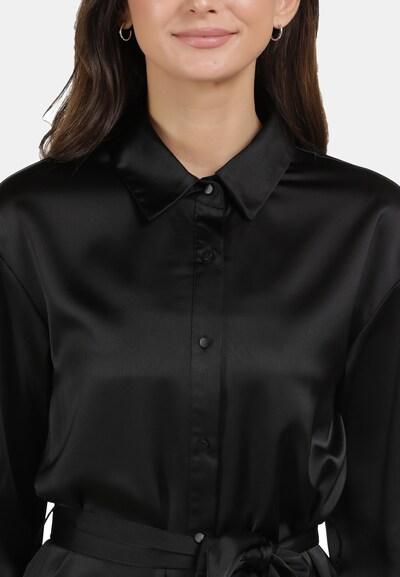 Usha Hemdblusenkleid in schwarz, Produktansicht