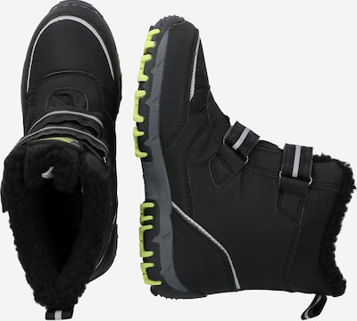 KAPPA Snowboots in apfel / schwarz: Seitenansicht