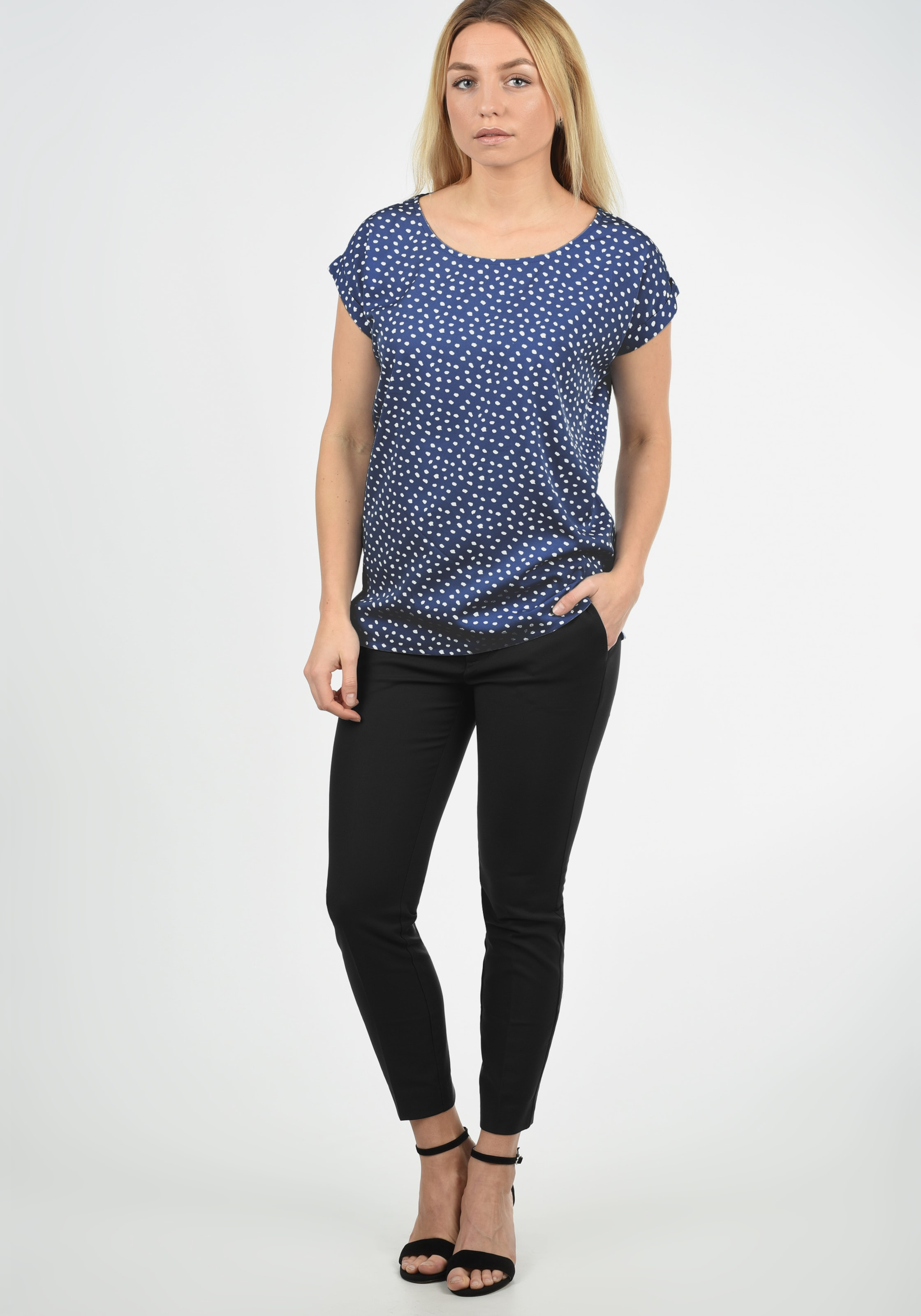 She Shirtbluse In Blend Blau 'amarena' 0X8PwZnkNO
