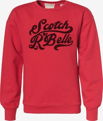 Scotch R'Belle Sweatshirt in rot / schwarz, Produktansicht