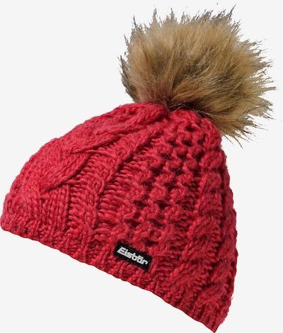 Eisbär Mütze in rot, Produktansicht