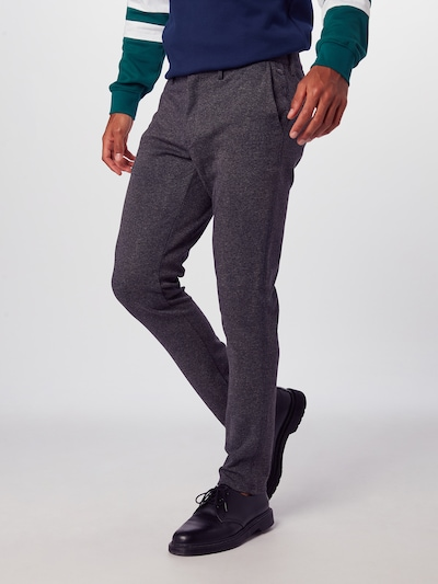 BLEND Chinohose in dunkelgrau, Modelansicht