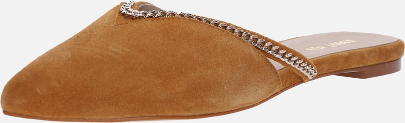 ABOUT YOU Slipper 'Joana' in cognac, Produktansicht