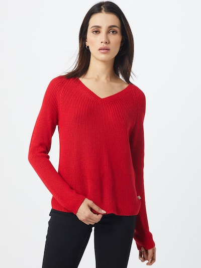 Q/S designed by Pullover in rot, Modelansicht