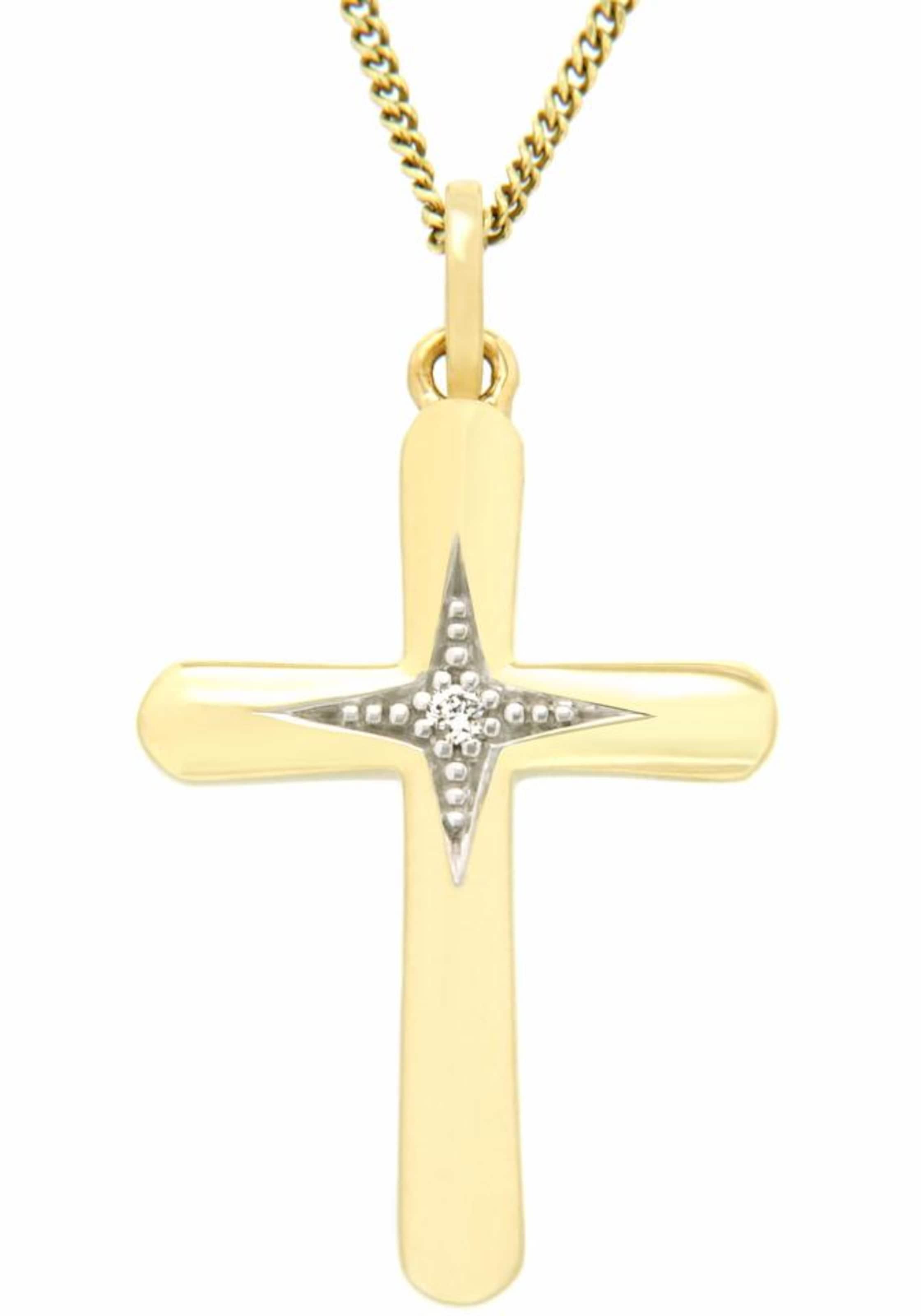 VIVANCE jewels Kettenanhänger »Kreuz« Preise Günstig Kaufen Fabrikverkauf Besuchen Online-Verkauf Neu Liefern GzLzWHpf