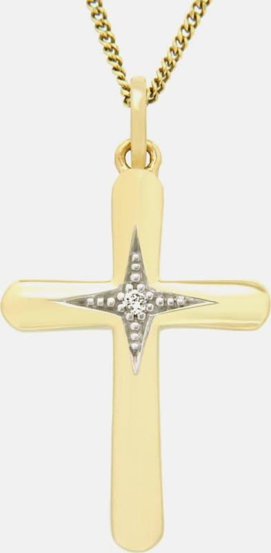 VIVANCE jewels Kettenanhänger »Kreuz«