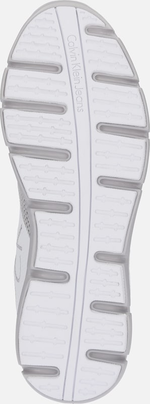 En GrisBlanc Calvin Jeans Basses 'murphy' Klein Baskets ybfg76