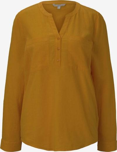 TOM TAILOR DENIM Bluza | gorčica barva, Prikaz izdelka