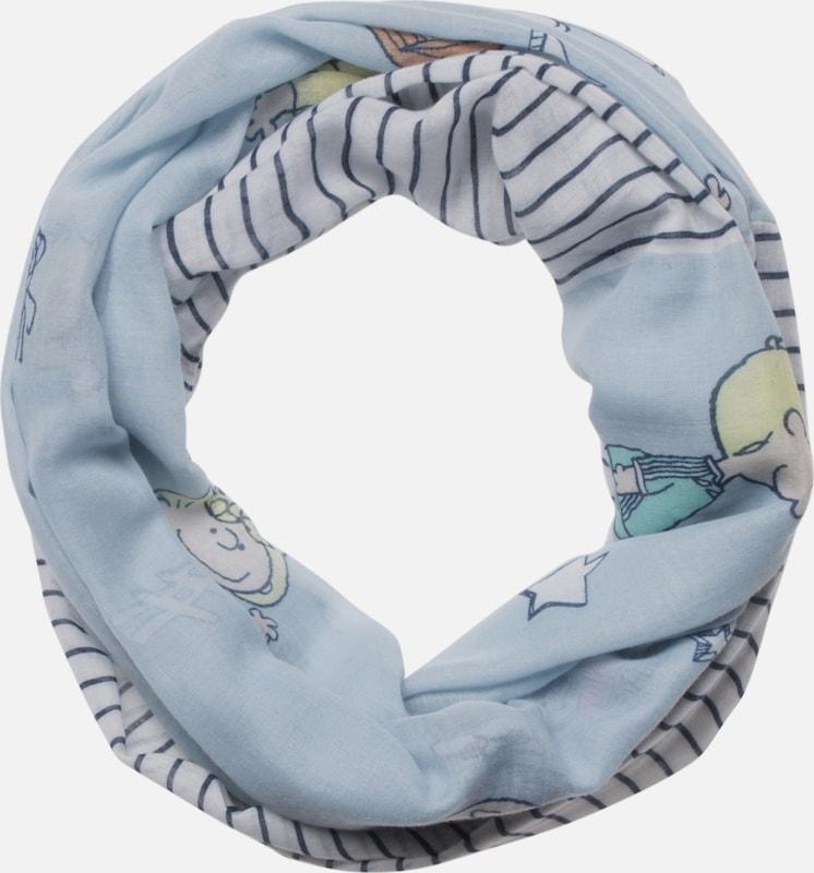 CODELLO Loop mit Streifen- und Peanuts-Muster