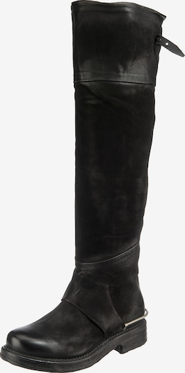 A.S.98 Over the Knee Boots in Black, Item view