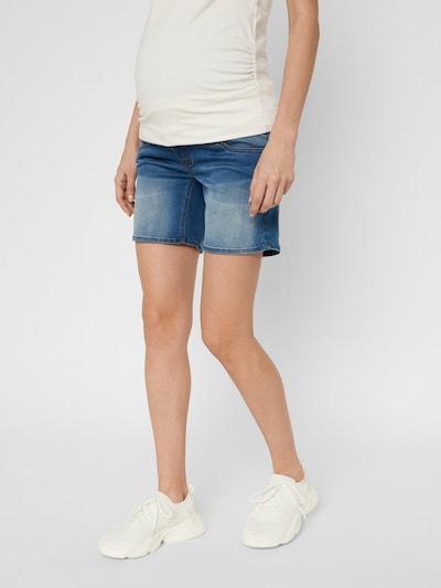 MAMALICIOUS Jeans in de kleur Blauw denim, Modelweergave