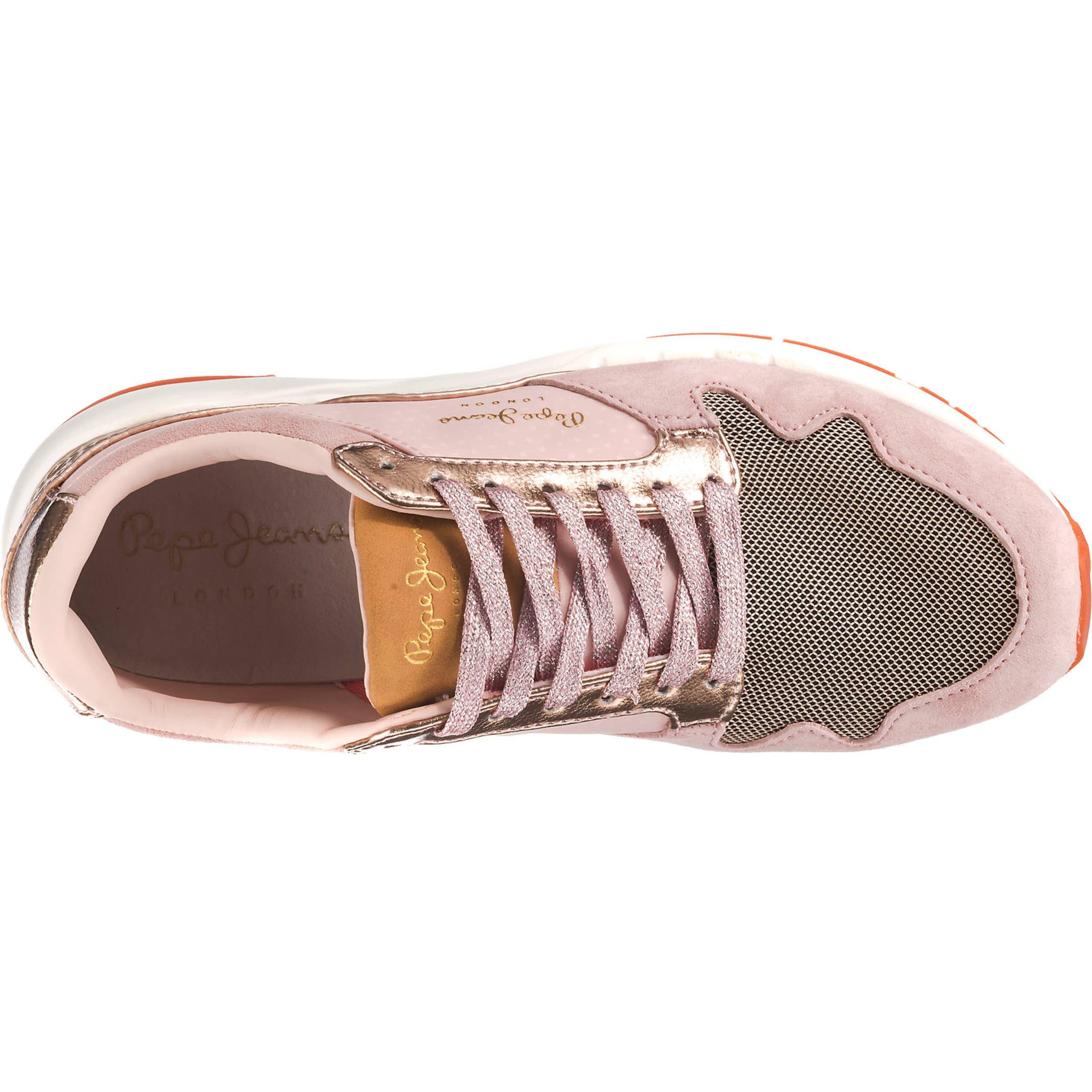 In Altrosa GoldgelbRosegold Sneakers Dunkelorange Pepe Weiß Jeans NPk8wXn0O