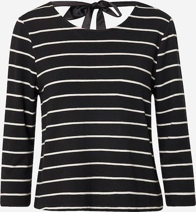 ONLY Shirt 'FINEA' in de kleur Zwart / Wit, Productweergave
